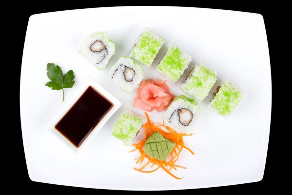 tempura maki the wok