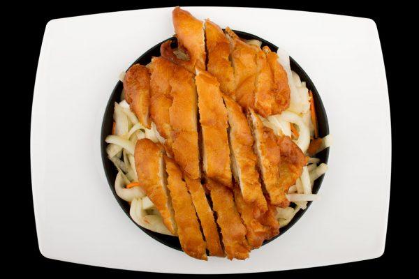 knuspriges hühnerfleisch the wok