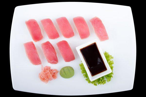 thunfisch sushi the wok