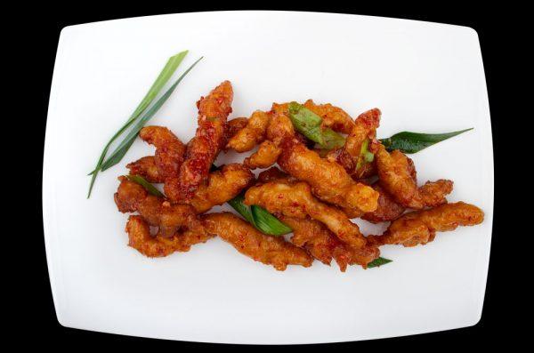 chen chen hühnerfleisch the wok